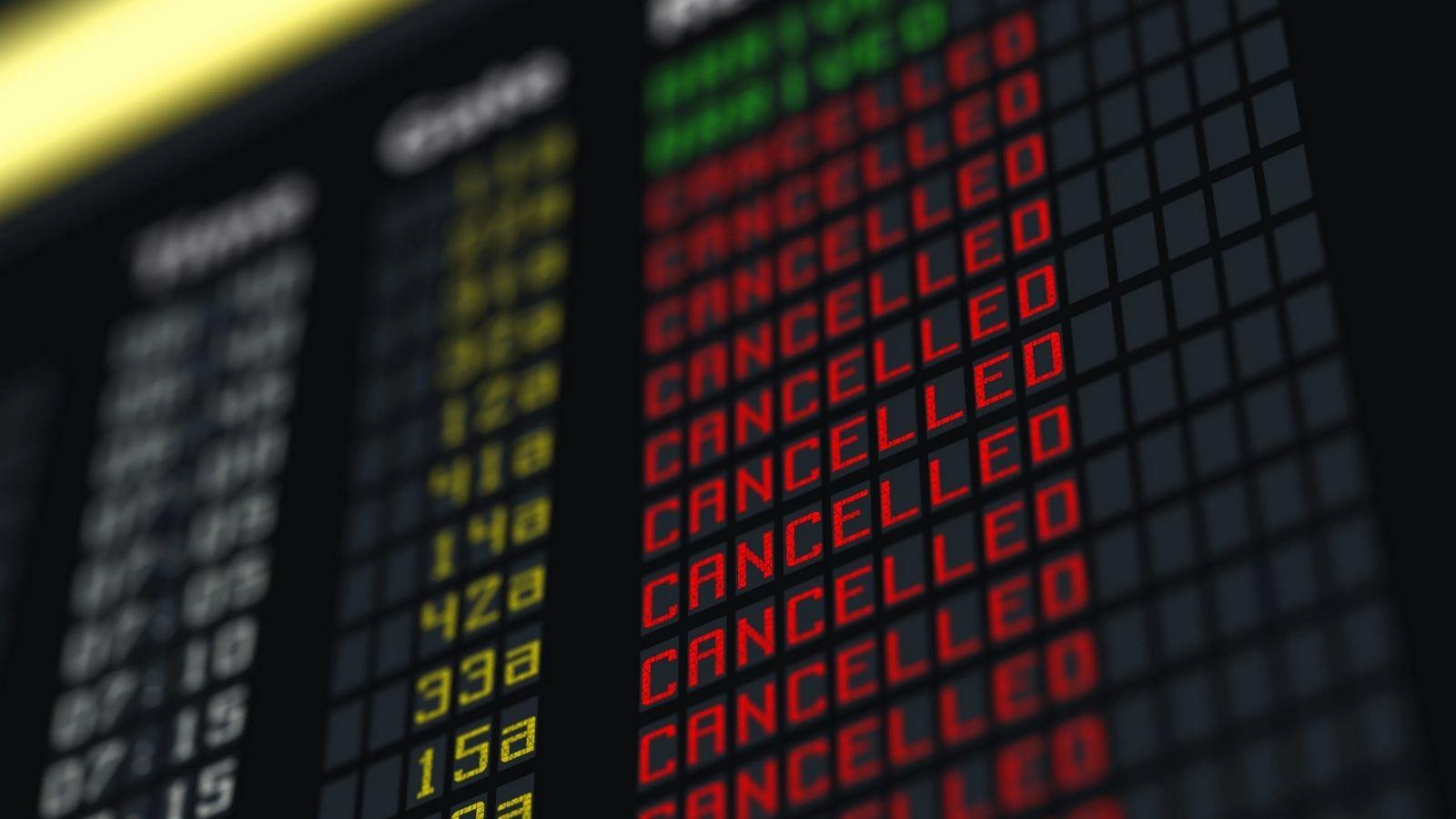 Vuelos cancelados: ¿Cómo actúa cada aerolínea?